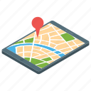 gps, location map, mobile location, online location, online map icon