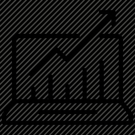 analytics, graph, statical chart, statistics, stats icon