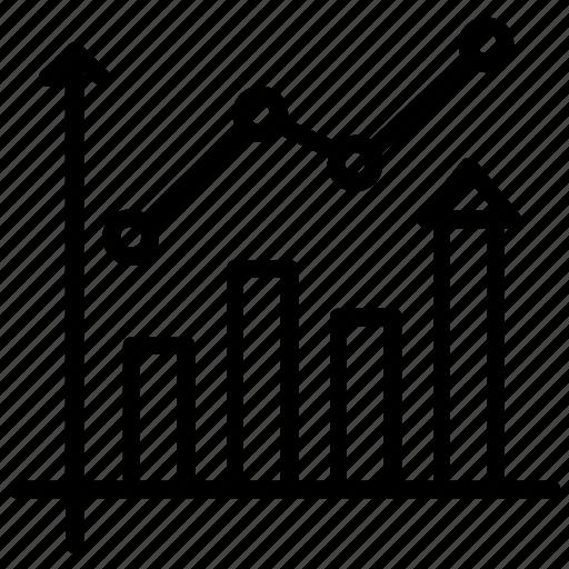 analysis, bar chart, bar graphics, chart, stats icon