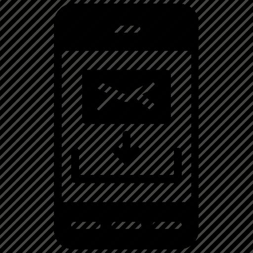 incoming message, message, mobile message, mobile text, sms icon