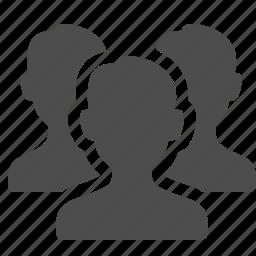 group, media, men, social, team, users icon