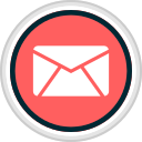 email, media, share, social icon