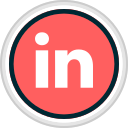in, linked, media, share, social icon