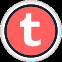 media, share, social, tumblr icon