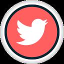 media, share, social, twitter icon