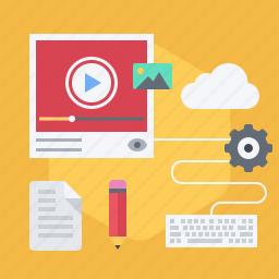 camera, cinema, film, production, record, video, youtube icon