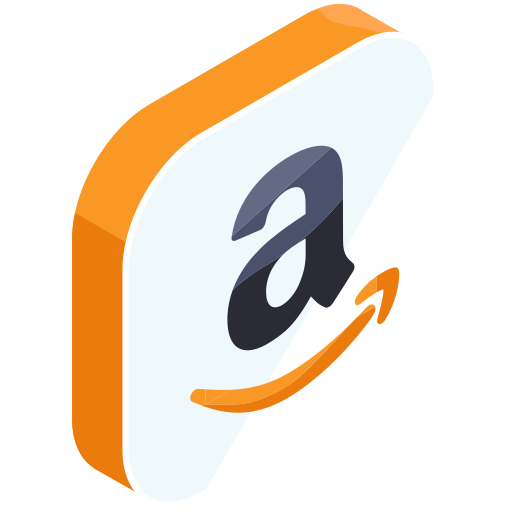 amazon, internet, media, network, online, shopping, social icon