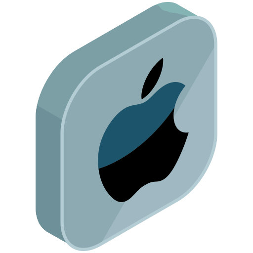 apple, computer, internet, media, network, online, social icon