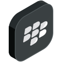 blackberry, communication, internet, media, network, online, social icon