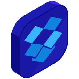 dropbox, internet, media, network, online, social, storage icon