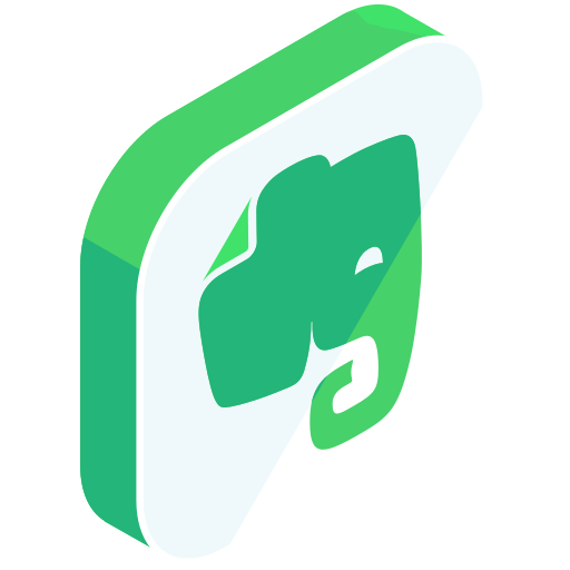 evernote, internet, media, network, online, share, social icon