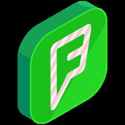 f, internet, media, network, online, social icon