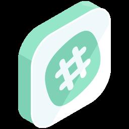 hashtag, internet, media, network, online, social icon