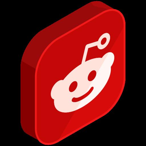 internet, media, network, online, reddit, social icon