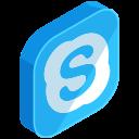 communication, media, network, online, skype, social
