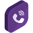 call, communication, internet, media, network, social, viber icon