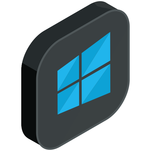 computer, media, network, pc, social, windows icon