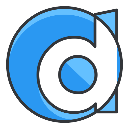 d, internet, media, network, online, social icon
