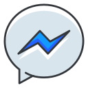 communication, facebook, media, messenger, network, social icon