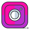 communication, instagram, internet, media, network, online, social icon