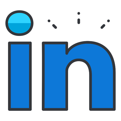 communication, linkedin, media, network, online, profession, social icon