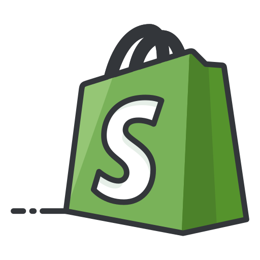 media, network, online, shopify, shopping, social icon