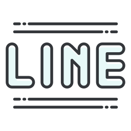 line, media, network, social icon