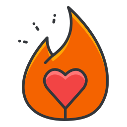 ember, media, network, social, tinder icon