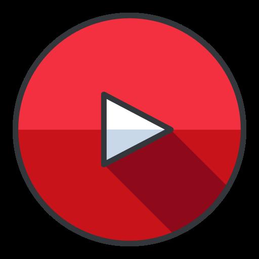 entertainment, media, network, social, video, youtube icon