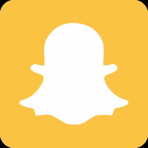 chat, chatting, internet, media, message, snapchat, social media icon