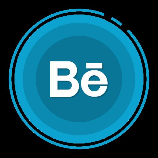 behance, social media icons icon