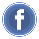 facebook, social media icons icon