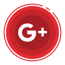 google, plus, social media icons