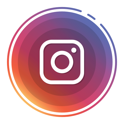 instagram, social media icons icon