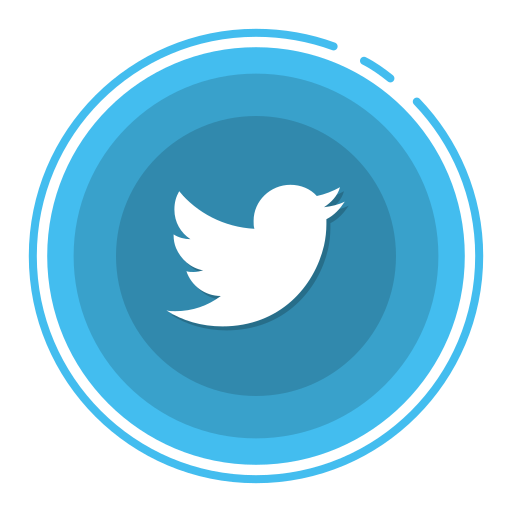 social media icons, twitter icon