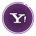 social media icons, yahoo icon