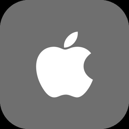 apple, iphone, media, social icon