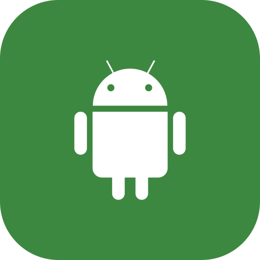 android, media, robot, social icon