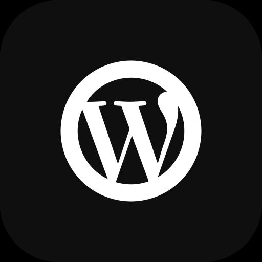 circle, media, social, wordpress icon
