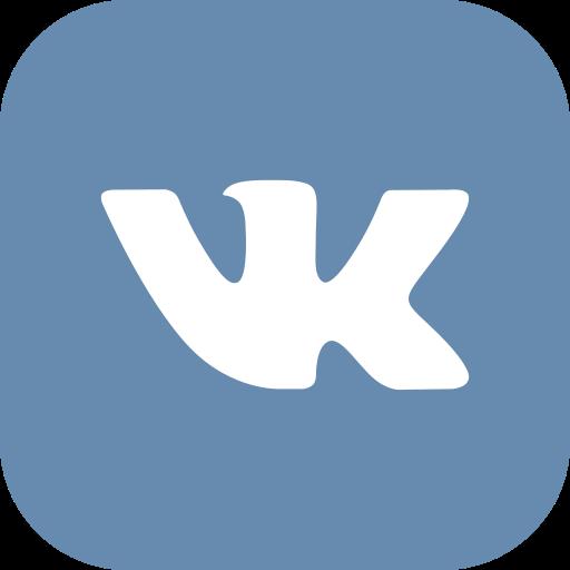 contact, media, social, vk icon