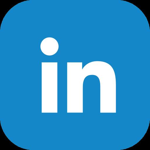 linked in, media, social, website icon