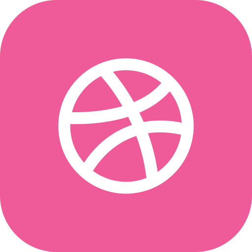 connect, dribbble, media, social icon