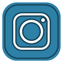 instagram, media, social icon