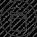 bunny, idea, magic hat, magician, service, solution, solve icon