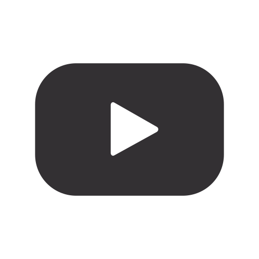 audio, film, media, music, social, video, youtube icon