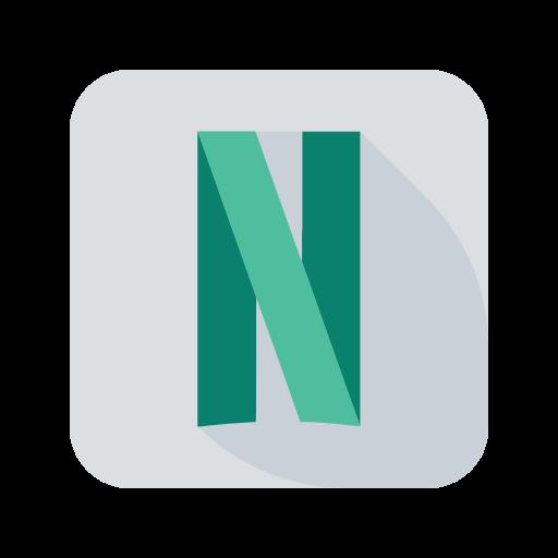 media, netflix, network, online, social icon