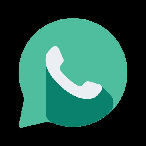communication, media, network, online, social, whatsapp icon