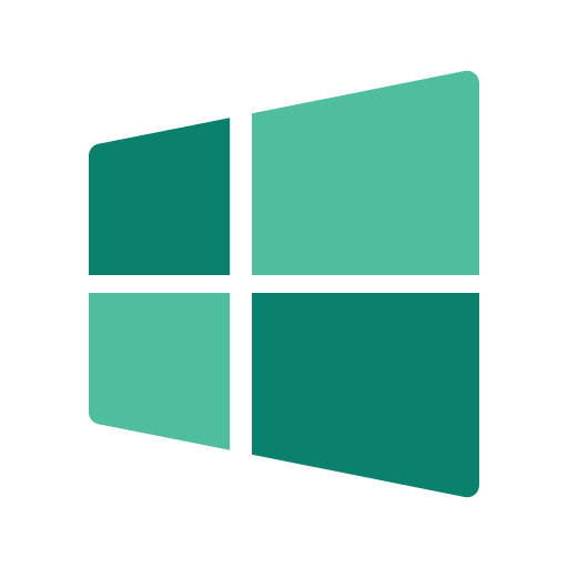 media, network, online, social, windows icon