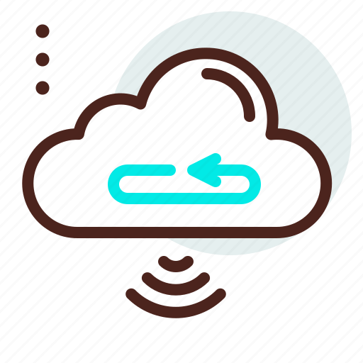 backup, cloud, download, signal, transfer, upload, wifi icon