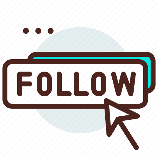 audience, cursor, follow icon